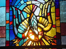 Window in the Chapel of the Holy Spirit
